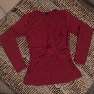 Fairly new. Ann Taylor full sleeve blouse.